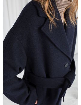 Belted Wool Coat by & Other Stories