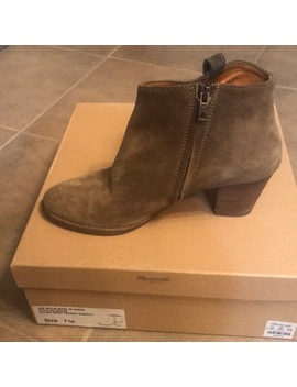 Madewell Suede Booties Size 7.5 by Madewell