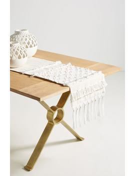 Ashton Table Runner by Anthropologie