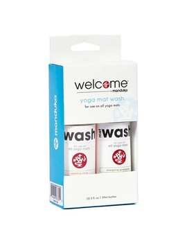 Manduka Welcome Yoga Mat Wash 2pk Citrus And Ginger Grass Scents. by Manduka