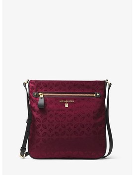 Kelsey Large Floral Nylon Crossbody by Michael Michael Kors