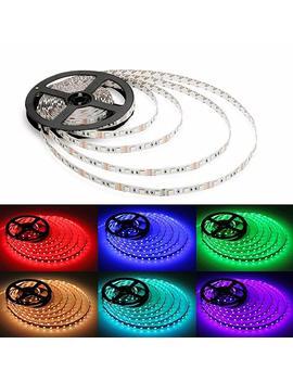 Alfa Lighting 16.4 Ft/5m 150 Le Ds Flexible Led Strip 5050 Smd Rgb 12 V 2 A + 44 Keys Remote Control [Energy Class A] by Alfa