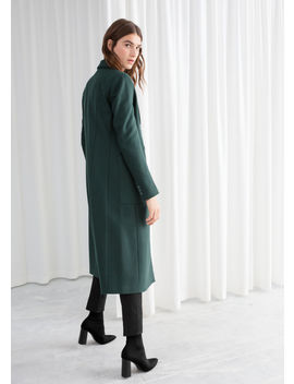 Wool Blend Double Breasted Coat by & Other Stories