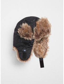 Outerspace Trapper Hat by Gap