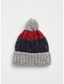 Stripe Pom Hat by Gap