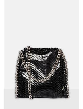 Black Chain Bag by Missguided