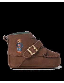 Ranger Hi Bear Leather Boot by Ralph Lauren
