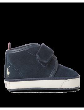 Chett Ez Suede Mid Top Sneaker by Ralph Lauren