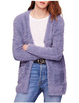 Oversized Faux Fur Cardigan by Free People