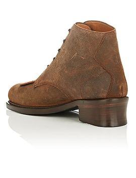 Buster Oiled Suede Boots by Barbanera