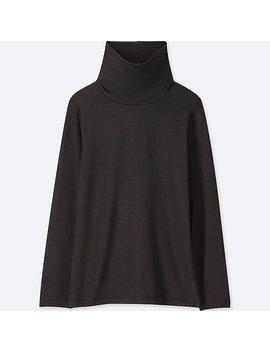 Kids Heattech Turtle Neck Long Sleeve T Shirt by Uniqlo