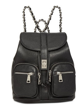 Ally Small Pebbled Backpack by Steve Madden