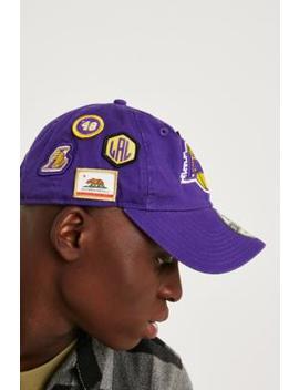 New Era 9 Twenty Lakers Nba Draft Cap by New Era