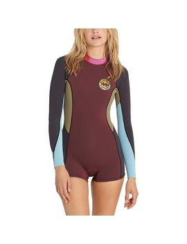 Surf Capsule Spring Fever Long Sleeve Wetsuit   Women's by Billabong