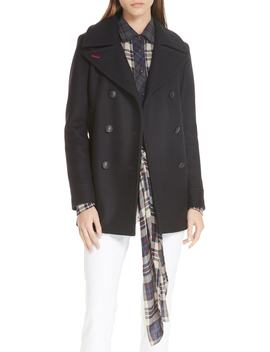 Nella Wool Blend Peacoat by Rag & Bone
