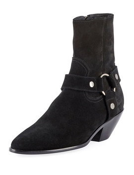 Lukas West Harness Booties by Saint Laurent