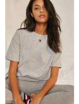 Tommy Hilfiger Basic Grey T Shirt by Tommy Hilfiger