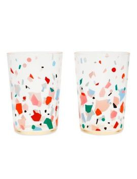Set Of Two Confetti Tumblers by Ban.Do