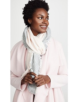Chevron Oblong Scarf by Rebecca Minkoff