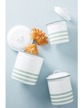 Soho Home Hempton Enamelware Canister Set by Soho Home