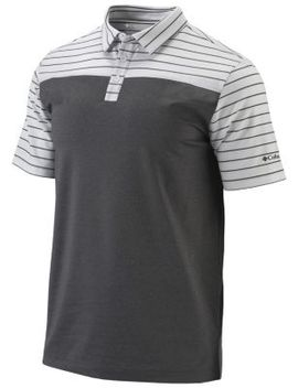 Men's Omni Wick Groove Golf Polo by Columbia Sportswear
