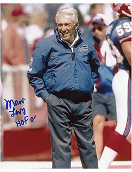 Marv Levy Buffalo Bills Autographed 8'' X 10'' Hands In Pockets Photograph   Fanatics Authentic Certified by Sports Memorabilia