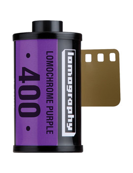 Lomo Chrome Purple Xr 100 400 Color Negative Film (35mm Roll Film, 36 Exposures) by Lomography