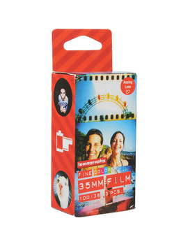 100 Color Negative Film (35mm Roll Film, 36 Exposures, 3 Pack) by Lomography