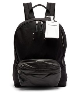 Stereotype Canvas Backpack by Maison Margiela