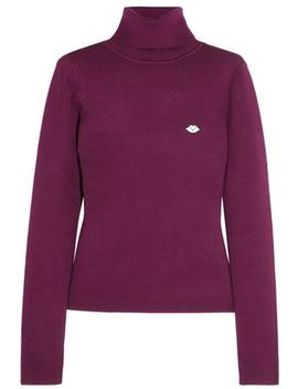 Cotton Blend Turtleneck Sweater by See By ChloÉ