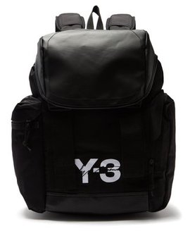 Logo Print Backpack by Y 3