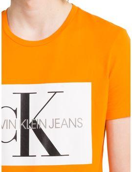 Calvin Klein Jeans Monogram Box Logo Tee by Calvin Klein