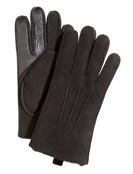 Men's Water Resistant Leather Gloves by Ugg®