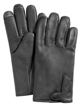 Men's Vented Leather Gloves by Ugg®