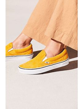 Corduroy Slip On Sneaker by Free People