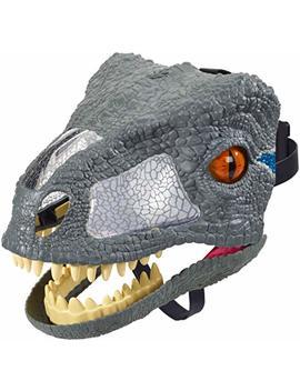 Jurassic World Chomp 'n Roar Velociraptor Blue Mask by Jurassic World Toys