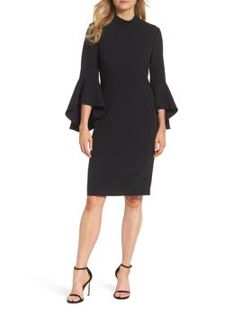 Bell Sleeve Midi Dress by Eliza J