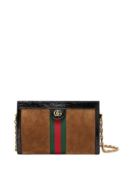 Linea Small Chain Shoulder Bag by Gucci