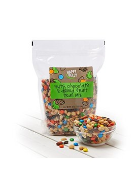Amazon Brand   Happy Belly Nuts, Chocolate & Dried Fruit Trail Mix, 48 Oz by Happy Belly