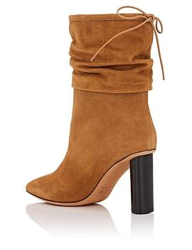 Suede Slouchy Ankle Boots by Iro