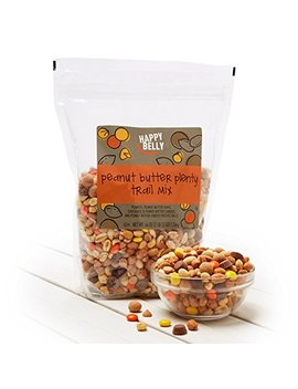 Amazon Brand   Happy Belly Amazon Brand Peanut Butter Plenty Trail Mix, 44 Ounce by Happy Belly