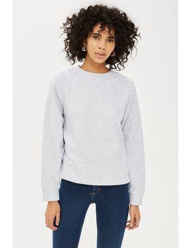 Petite Flatlock Sweatshirt by Topshop