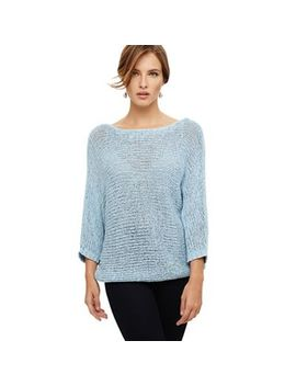 Phase Eight   Blue Nelly Batwing Jumper by Phase Eight