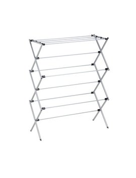 Honey Can Do Lightweight Oversize Folding Laundry Drying Rack, Gray by Honey Can Do