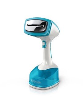 Black+Decker Garment Steamer White Teal by Black+Decker