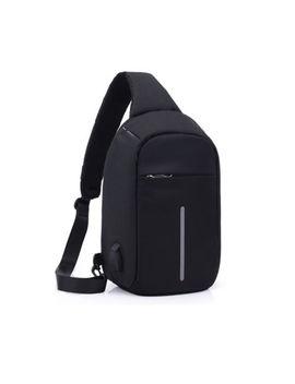 Mochila Para Hombre Puerto De Carga Usb Sling Bag Deportes Bandolera Hombro De Viaje by Ebay Seller