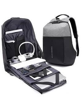 Mochila Impermeable Anti Theft Laptop Casual Viaje Escolar Bolsa De Carga Usb Nuevo by Ebay Seller