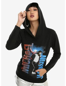 Michael Jackson Jump Girls Hoodie by Hot Topic