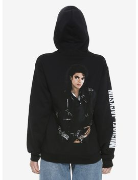 Michael Jackson Bad Girls Hoodie by Hot Topic