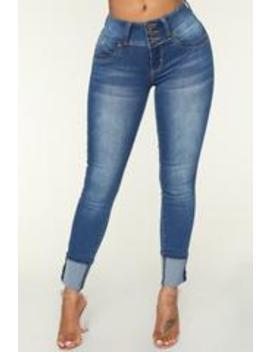 Nice To Know Me Booty Lifting Jeans   Medium by Fashion Nova